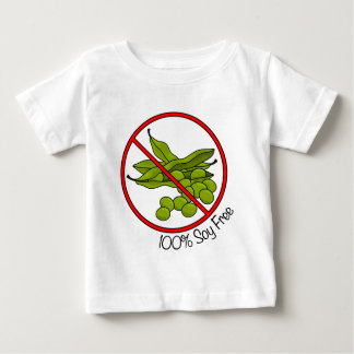 100% Soy Free Baby T-Shirt