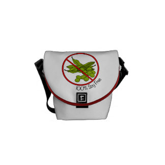 100% Soy Free Courier Bag