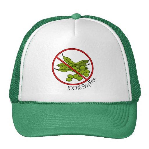 100% Soy Free Mesh Hat
