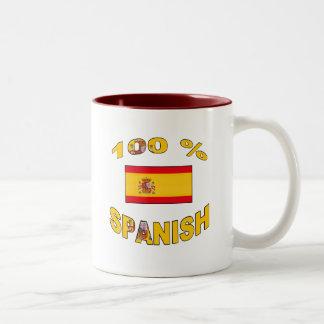 100% Spanish Coffee Mug