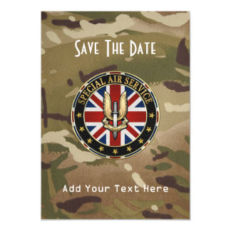 [100] Special Air Service (SAS) Badge [3D] Magnetic Card