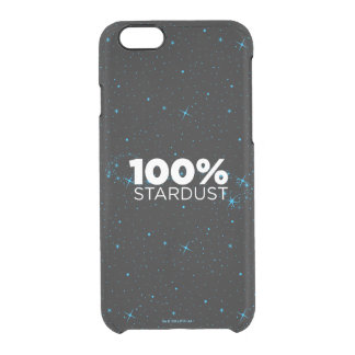 100% Stardust Clear iPhone 6/6S Case
