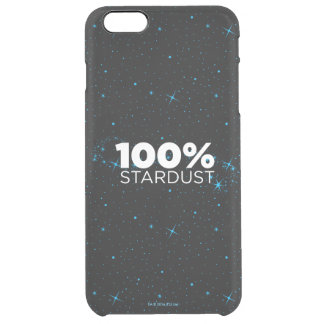 100% Stardust Clear iPhone 6 Plus Case