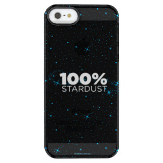 100% Stardust Clear iPhone SE/5/5s Case