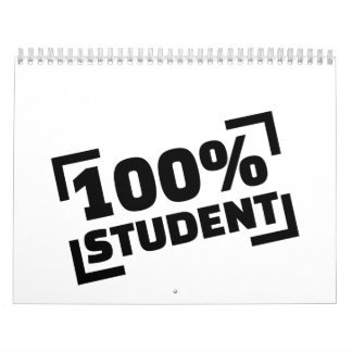 100% Student Calendar