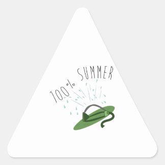 100% Summer Triangle Sticker
