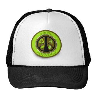 100% Survival Eco Prepper Shirts Hat
