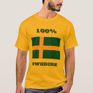 100%, SWEDISH T-Shirt