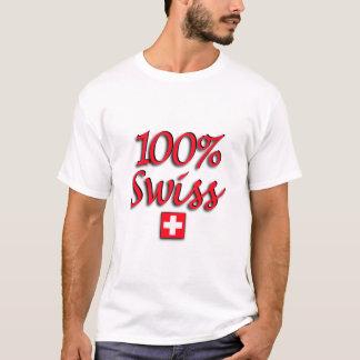100% Swiss Basic White Tee