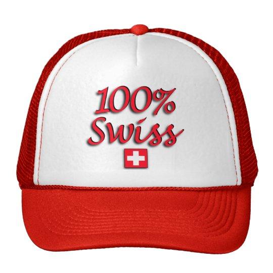 100% Swiss Cap