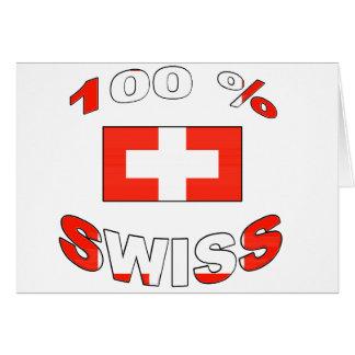 100% Swiss Cards