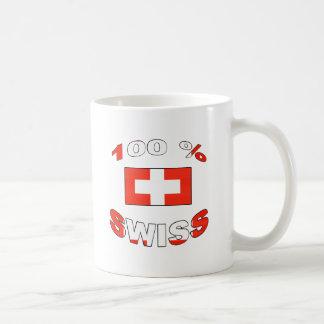 100% Swiss Coffee Mug