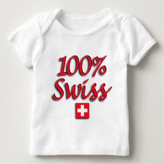 100% Swiss Kids Baby T-Shirt