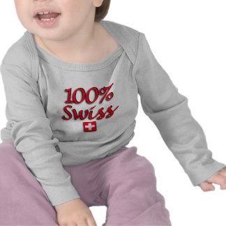 100% Swiss Kids Shirts