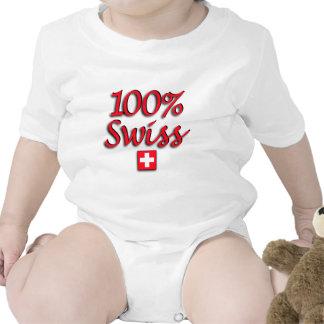 100% Swiss Kids Romper