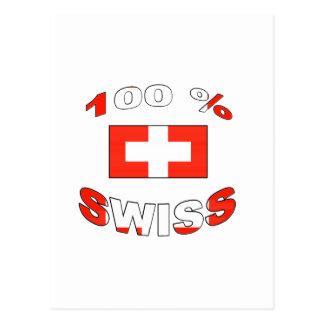 100% Swiss Post Cards