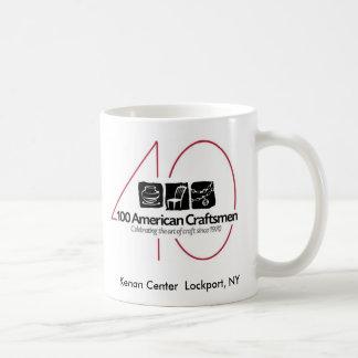 100 taza americana de los artesanos 40.os
