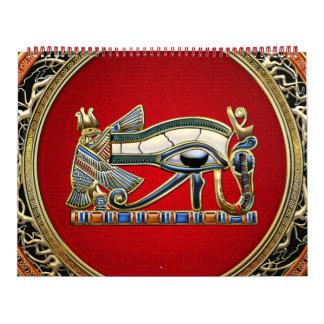 [100] Tesoro: El ojo de Horus Calendarios De Pared