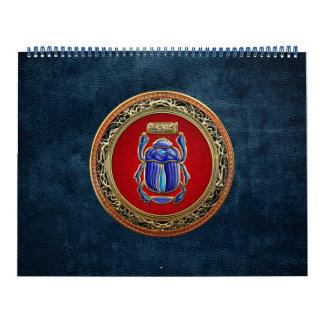 [100] Tesoro: Escarabajo egipcio antiguo Calendario