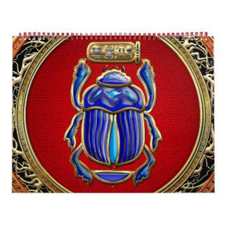 [100] Tesoro: Escarabajo egipcio antiguo Calendarios
