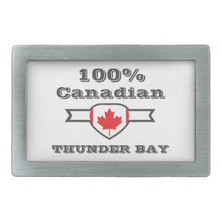 100% Thunder Bay Rectangular Belt Buckle
