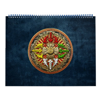 [100] Tibetan Double Dorje Mandala Calendars