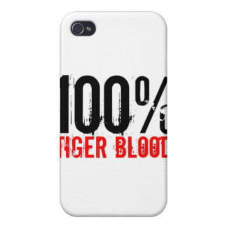 100% Tiger Blood Case For iPhone 4