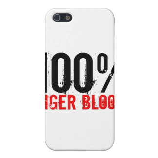 100% Tiger Blood Cover For iPhone 5