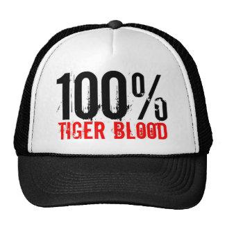 100% Tiger Blood Trucker Hat