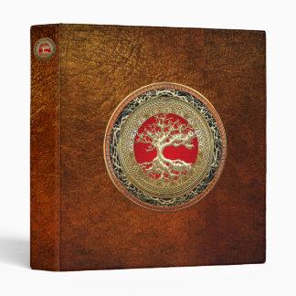 [100] Treasure Trove: Celtic Tree of Life [Gold] Binder