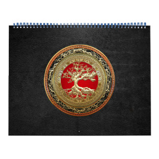 [100] Treasure Trove: Celtic Tree of Life [Gold] Calendar