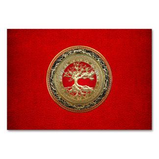 [100] Treasure Trove: Celtic Tree of Life [Gold] Card