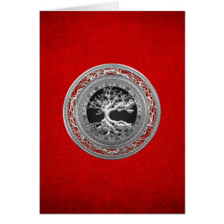 [100] Treasure Trove: Celtic Tree of Life [Silver] Card