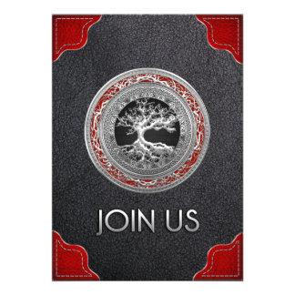 100 Treasure Trove Celtic Tree of Life Silver Announcement