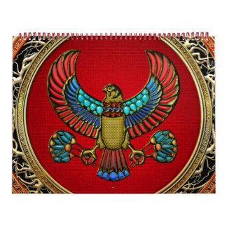 [100] Treasure Trove: Egyptian Falcon Calendar