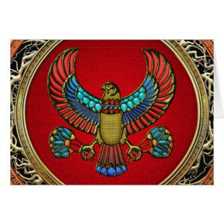 [100] Treasure Trove: Egyptian Falcon Card