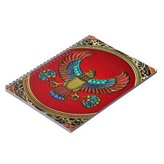 [100] Treasure Trove: Egyptian Falcon Note Book
