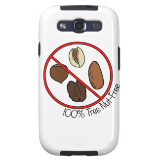 100% Tree Nut Free Samsung Galaxy S3 Covers