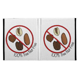 100% Tree Nut Free iPad Folio Covers