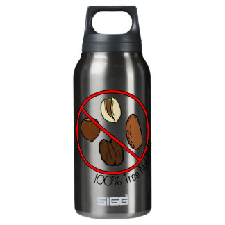 100% Tree Nut Free Insulated Water Bottle