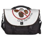 100% Tree Nut Free Laptop Bag