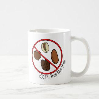 100% Tree Nut Free Coffee Mugs