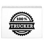 100% Trucker Calendar