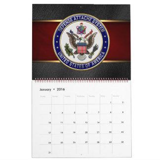 [100] U.S. Defense Attaché System (DAS) Emblem [3D Calendar