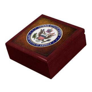 [100] U.S. Defense Attaché System (DAS) Emblem [3D Gift Boxes