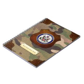 [100] U.S. Defense Attaché System (DAS) Emblem [3D Notebook