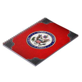 [100] U.S. Defense Attaché System (DAS) Emblem [3D Spiral Note Book