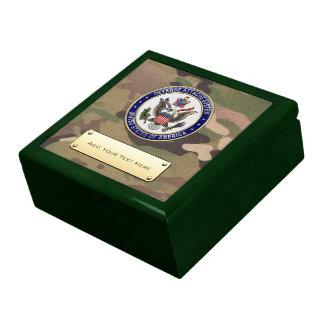 [100] U.S. Defense Attaché System (DAS) Emblem [3D Trinket Boxes