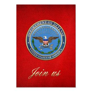 [100] U.S. Department of Defense (DOD) Emblem [3D] Card