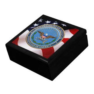 [100] U.S. Department of Defense (DOD) Emblem [3D] Gift Box